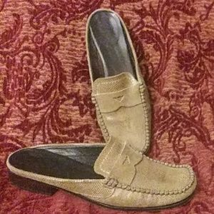 2 For 10 Setso Meucci Suede Slip.ons 6.5